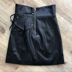 MAJORELLE Skirts - MAJORELLE Hyperion Mini Skirt in Black